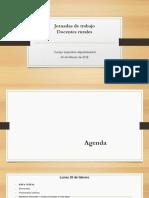 Agenda Rurales 26 de Febrero