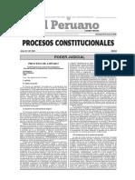 Procesos Constitucionales - Principio Persecutorio