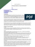 Análisis de la ley de ventas con reserva de dominio
