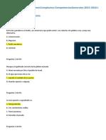 Reactivos Conocimientos Generales 100
