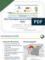 plan estratégico caracas 2020