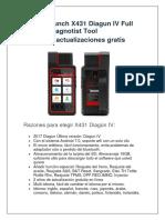 Launch X431 Diagun IV Full System Diagnotist GPORT
