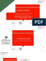 Analisis FODA Secundaria