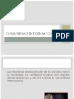 3.- Organización de La Comunidad Internacional (1)