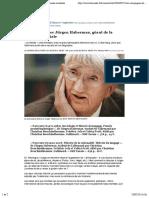 Rencontre avec Jürgen Habermas, géant de la pensée mondiale