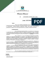 RD de Conformacion de CONEI 2018