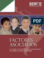Treviño (2010) Factores Asociados Al Logro Cognitivo de Los Estudiantes de America Latina y El Caribe