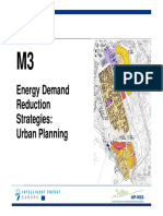 UP-RES M3 Energy Demand Reduction Strategies
