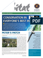 August 2009 North Shore, Royal Forest and Bird Protecton Society Newsletter