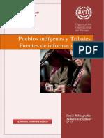 Pueblos Indigenas y Tribales