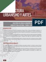 UNI-MAESTRÍA EN CIENCIAS MENCIÓN EN ARQUITECTURA-HISTORIA, TEORÍA Y CRÍTICA