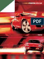 2004 Rx8 Brochure