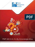 PMP 300 Q & a's by Knowledge AreaVer 02