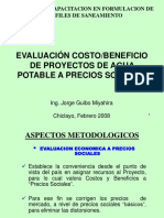 2-7 Evaluación Económica Proyectos Agua