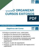 8 - Como Organizar Cursos Exitosos - Diapositivas