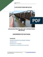 00 Ug Sap Estructuras Metalicas