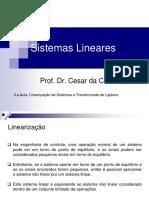 3.a Aula_Sist. Lineares_Linearização de Sistemas