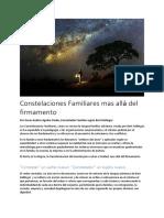 Constelaciones Familiares mas allá del firmamento