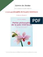 Prem Chap Petite Philosophie