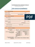 Encuesta Socio Académica
