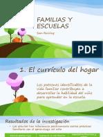 Familias y escuelas, Sam, el currículo del hogar
