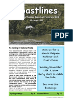 October 2009 Kaipara, Royal Forest and Bird Protecton Society Newsletter