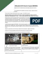 I-3082-00 PTO Instructions 2012 Mitsubishi Duonic (Muncie Final)