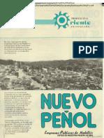 EPM Plegable 037 Nuevo Peñol Presencia en el oriente antioqueño