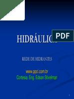 Hidráulica Rede de Hidrantes