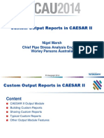 CAESAR-II Output Report