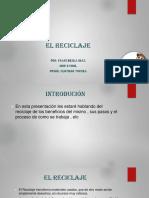 PRESENTACION EL RECICLAJE.pptx