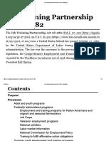 Job Training Partnership Act of 1982 - Wikipedia
