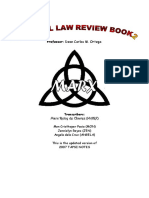 Marx Notes - Criminal Law 2 (Ortega) (Jaky Pagarigan's Conflicted Copy 2014-12-29)