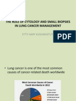 The Role of Cytology in Lung Cancer, 17 Des 16