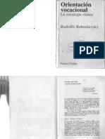 Bohoslavsky, R. (----). Orientación Vocacional - La Estrategia Clínica