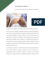 Diagnostico de Las Malformaciones Congenitas