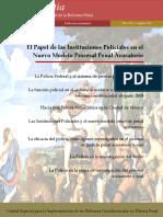 Revista Digital de La Reforma Penal-nova Iustia-el Papel de Las Instituciones Policiales en El Nuevo Modelo Procesal Penal Acusatorio