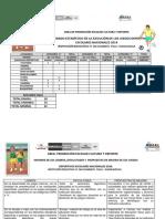 Informe de Juegos Escolares 2014