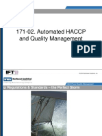 IFT 2010 -Automated HACCP & Quality Management