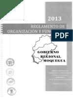 Reglamento de Organizacion y Funciones 2014