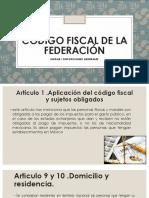 Exposición del Código Fiscal de la Federación