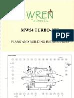 MW 54 Turbo Jet Engine Plans