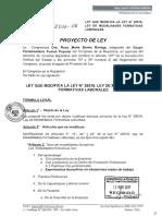 PROYECTO 1512 CONCULCANDO DERECHOS LABORALES A JOVENES PERUANOS- AÑO 2018