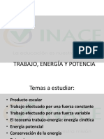 Trabajo Potencia y Energía