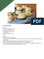 Baking Recipe Pinoy