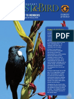 2009 Annual Report Royal Forest and Bird Protecton Society