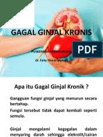 GAGAL GINJAL KRONIS
