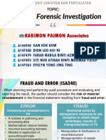 Audit Lanjutan Fraud and Forensic Investigation
