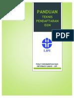 Panduan Teknis ISSN - User Dan Petugas