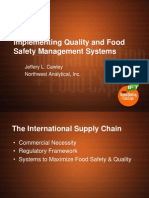 IFT2006-Implementing Quality and Food Safety Management Systems